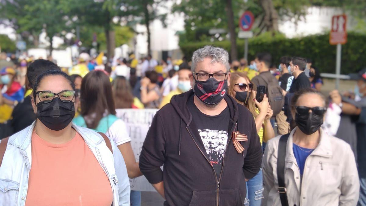 José Martínez, de IU Sevilla. Fuente Twitter.
