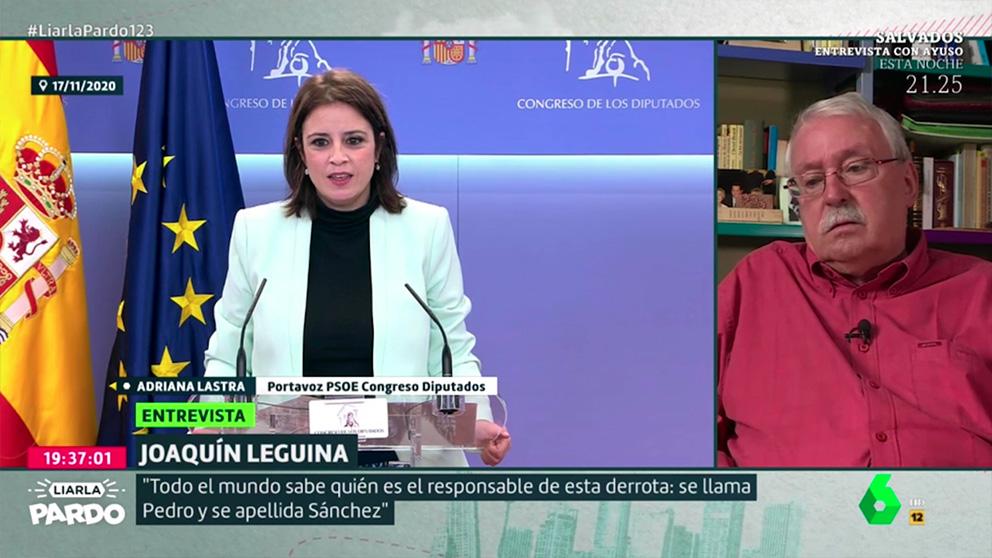 Joaquín Leguina en Liarla Pardo.