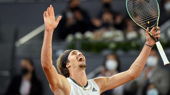 Zverev vuelve a reinar en Madrid tras remontar a Berrettini