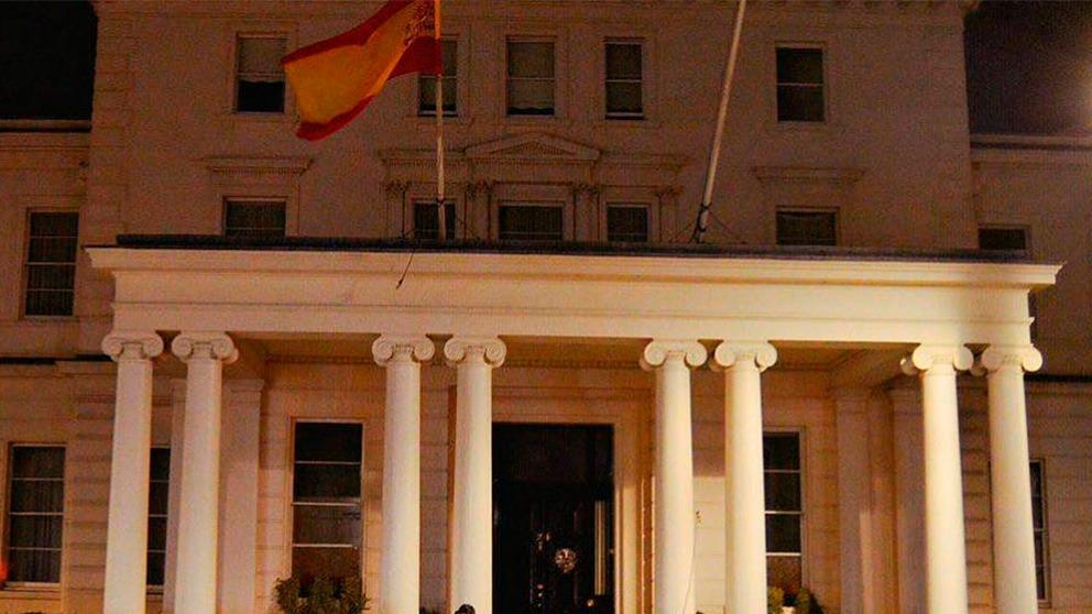 Embajada española en Londres.
