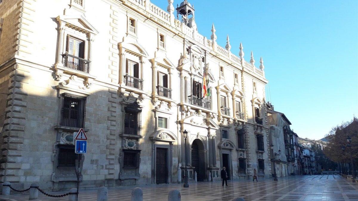Real Chancillería de Granada, sede del TSJA.