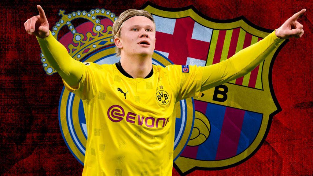 Erling Haaland, delantero del Borussia Dortmund.