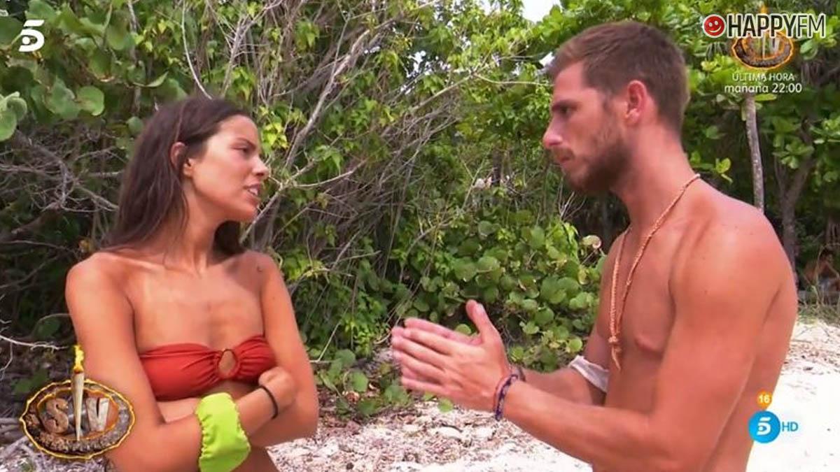 Melyssa y Tom en 'Supervivientes'