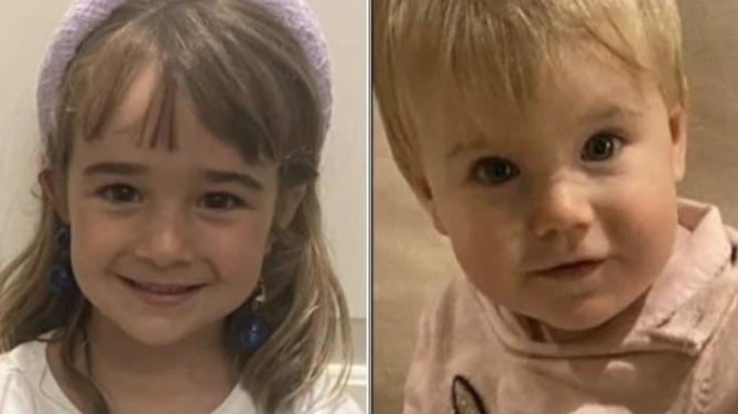 Anna y Olivia, las niñas de Tenerife secuestradas por su padre, Tomás Gimeno.