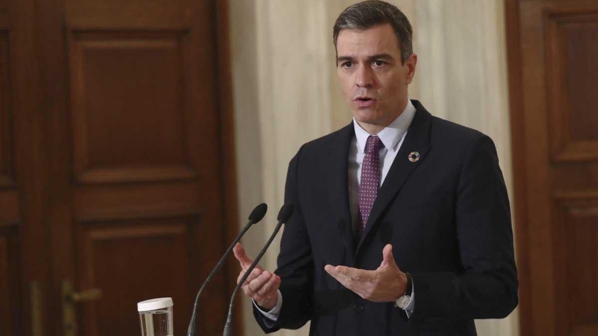 Pedro Sánchez en Atenas. Foto: Europa Press