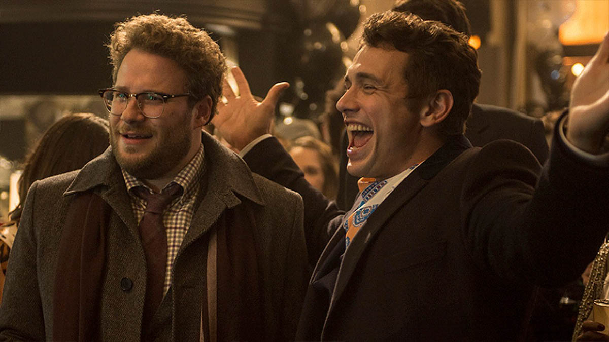Seth Rogen y James Franco en «The Interview» (Columbia Pictures)
