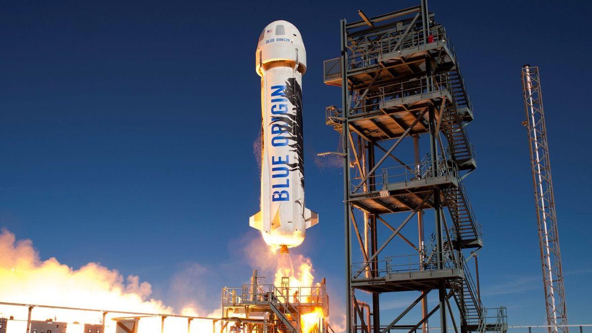 Así será el primer vuelo tripulado de la empresa espacial de Jeff Bezos