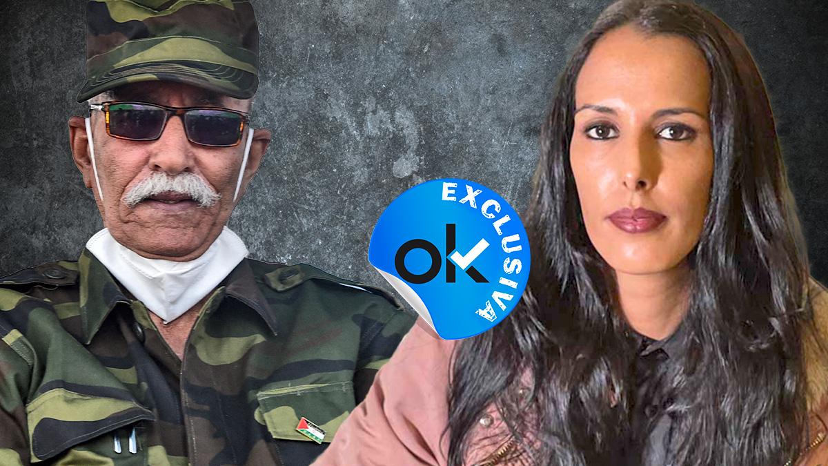 Yade Mohamud acusa a Brahim Ghali de haberla violado.
