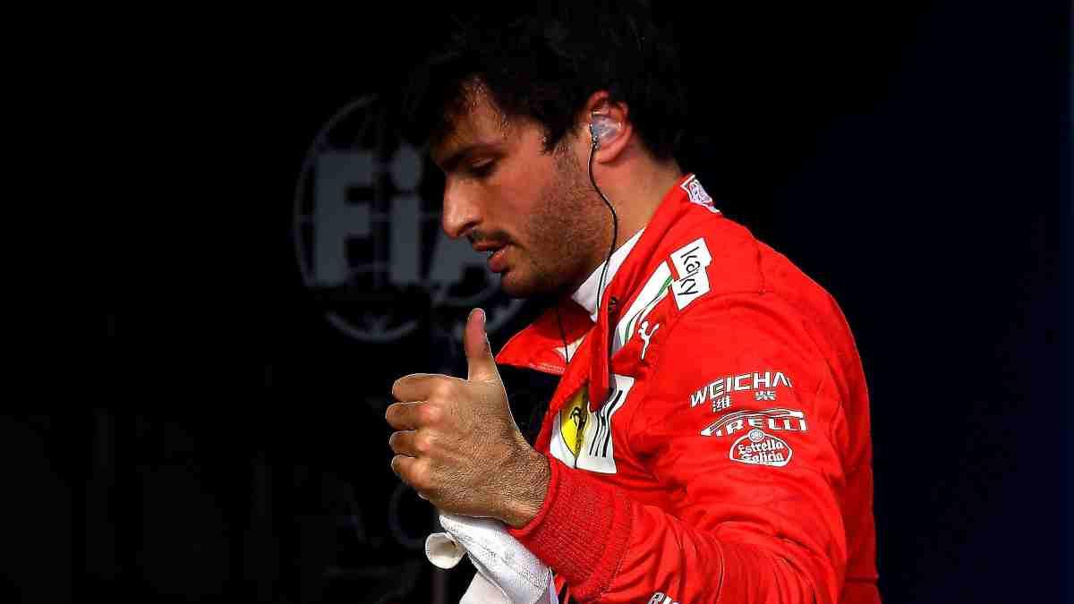 Carlos Sainz con Ferrari. (@Carlossainz55)