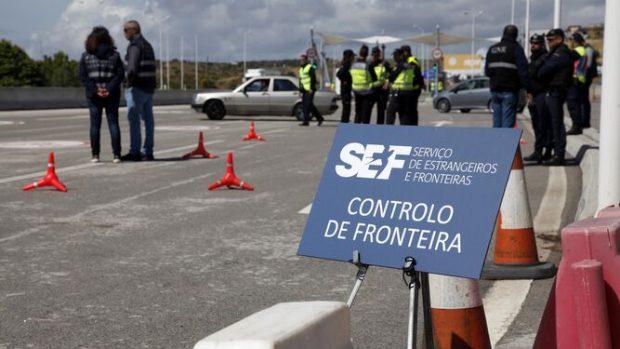Fronteras entre España y Portugal.