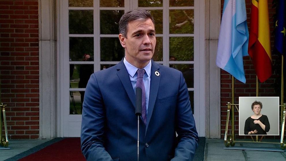 Pedro Sánchez responde a las críticas por el caos jurídico: «El estado de alarma es el pasado».