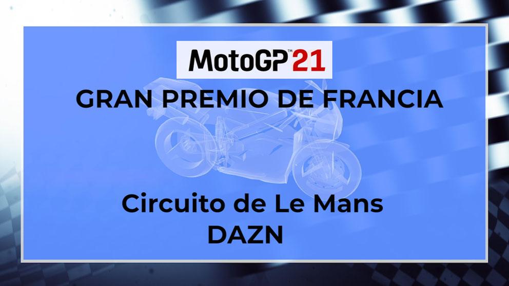 Horario y dónde ver el GP de MotoGP de Le Mans