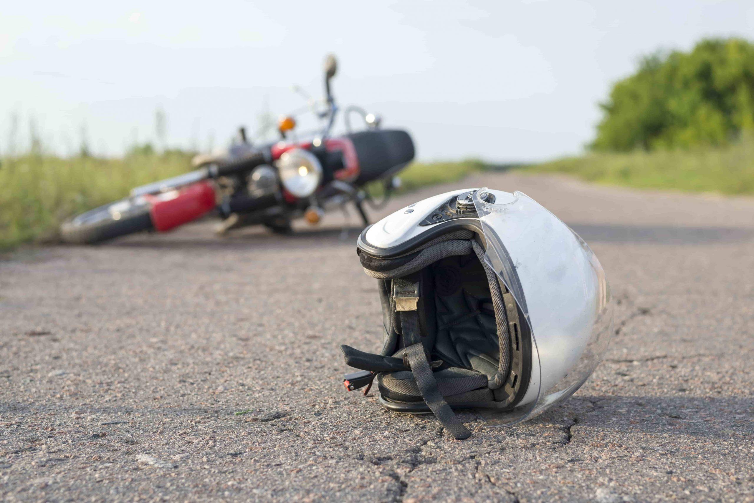 Accidente de moto. @Istock