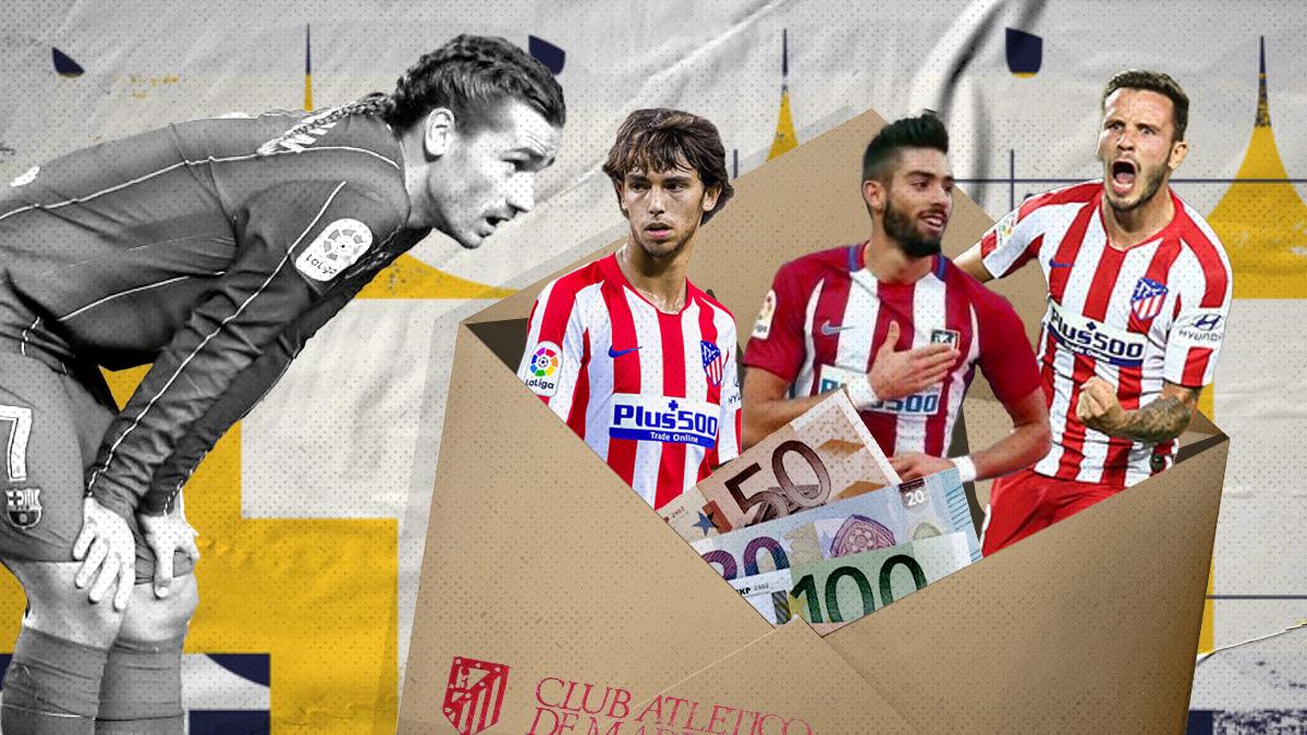 Los jugadores del Atlético que pueden entrar en la operación Griezmann.