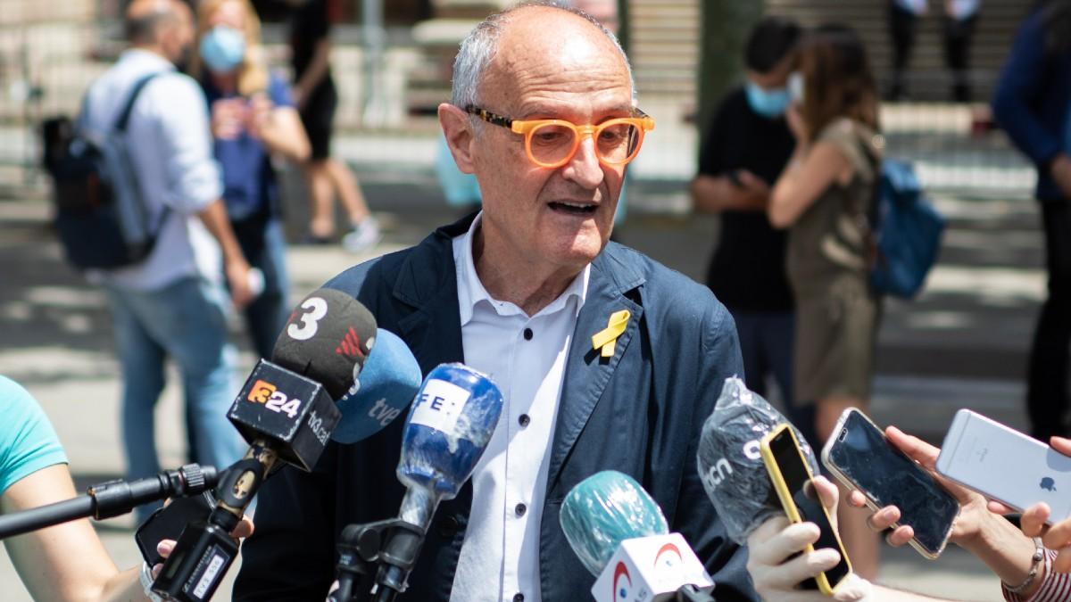 El presidente de la 'Caja de solidaridad', Pep Cruanyes. (Foto: Europa Press)