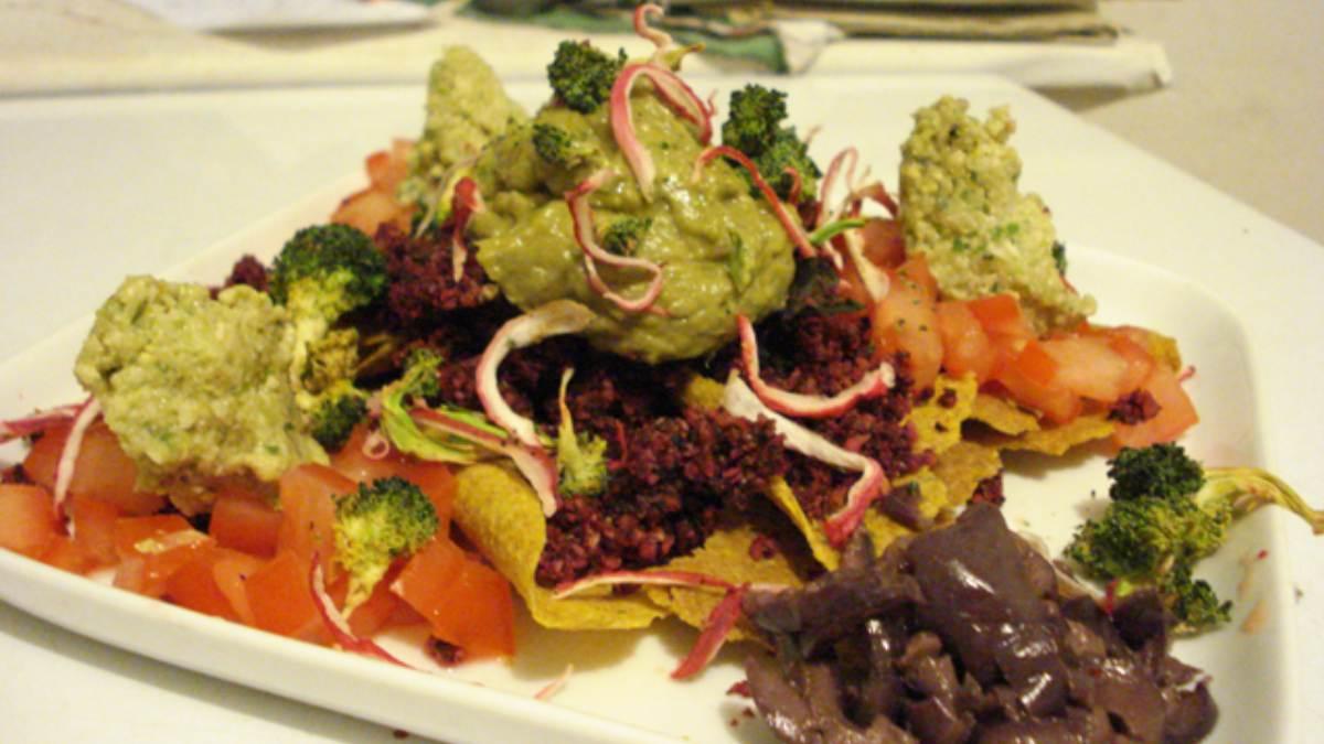 Guacamole con brócoli