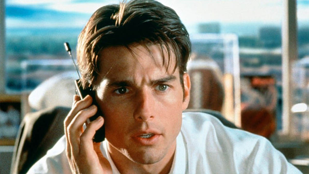 Tom Cruise en «Jerry Maguire» (TriStar Pictures)