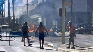 Disturbios La Línea
