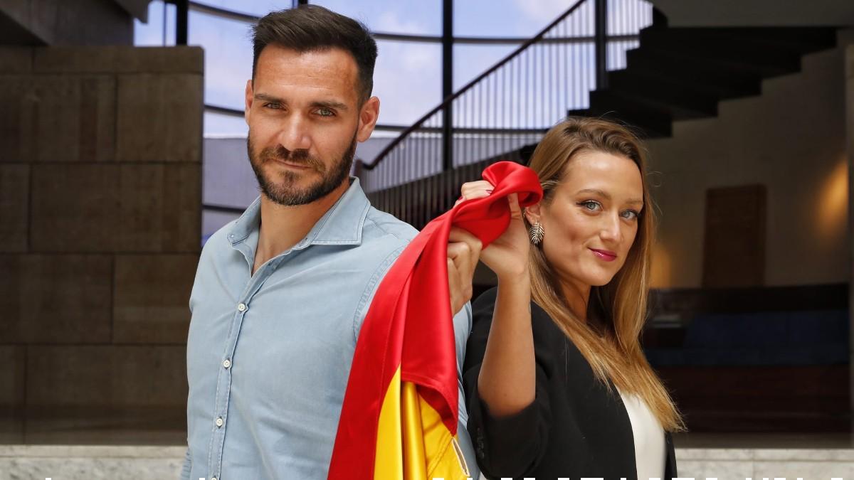 Saúl Craviotto y Mireia Belmonte serán los abanderados de la delegación española en los Juegos Olímpicos de Tokio. (COE)