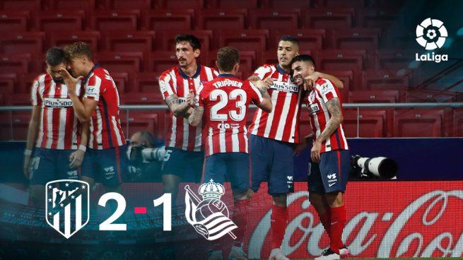 El Atlético huele a campeón