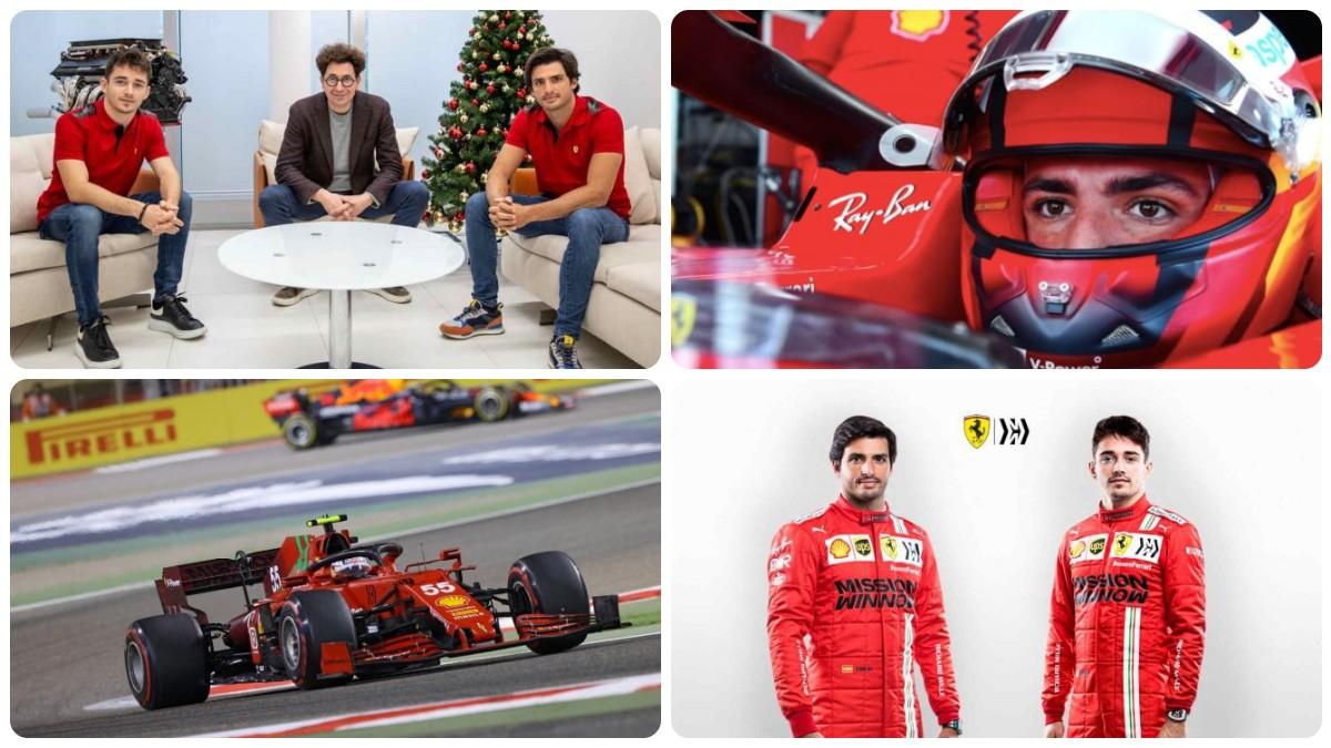 Se cumple un año desde que Ferrari anunciase el fichaje de Carlos Sainz.