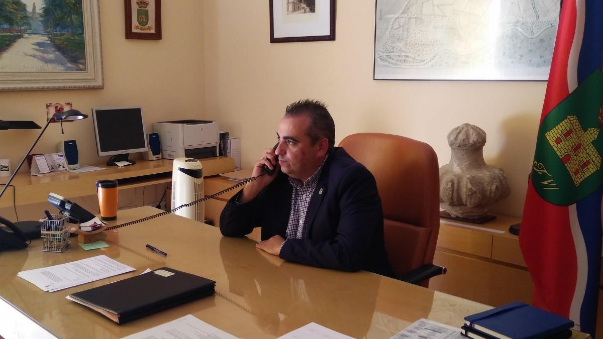 El alcalde de San Fernando de Henares, Javier Corpa.