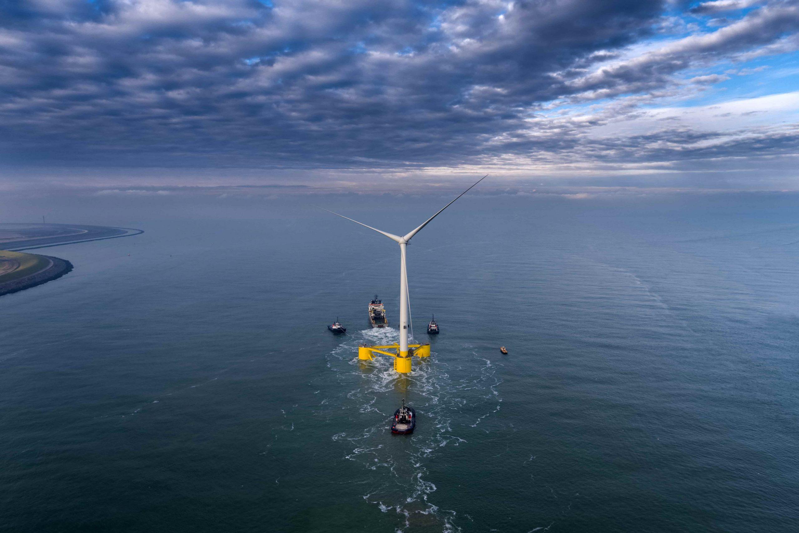 Kincardine, el proyecto de eólica marina que está construyendo Cobra en Escocia. @ACS