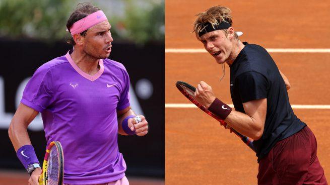 Dónde ver a Nadal hoy en directo y a qué hora juega el Masters 1000 de Roma ante Shapovalov