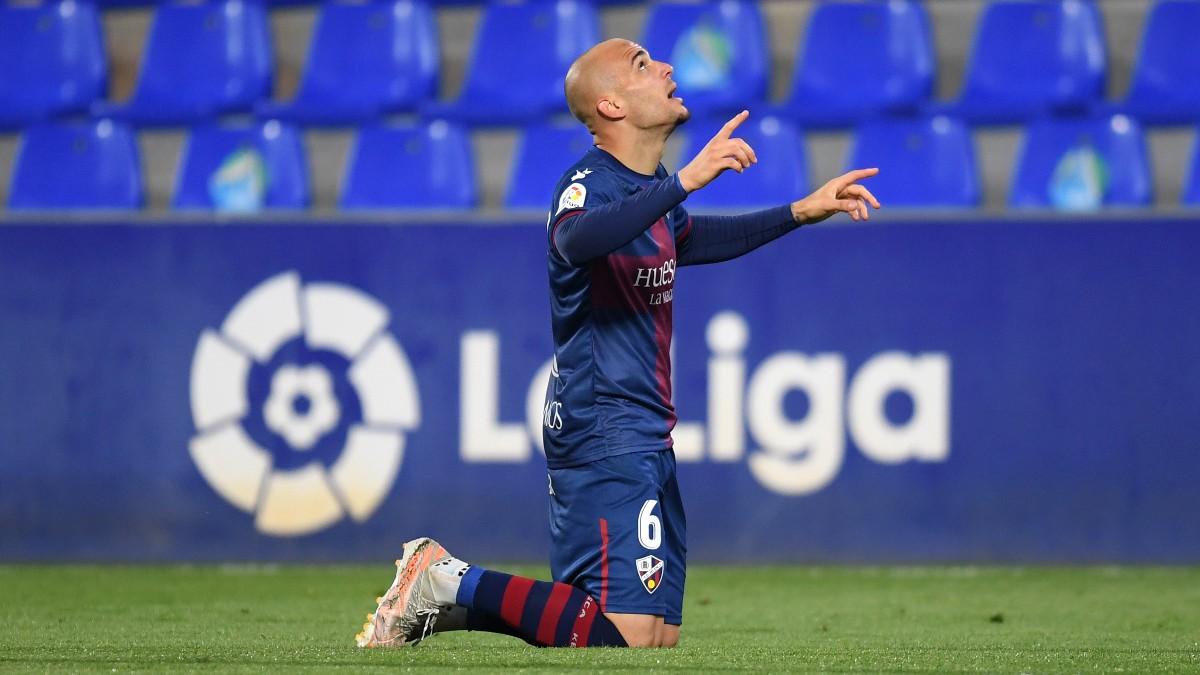 Sandro celebra su gol ante el Athletic. (Getty)