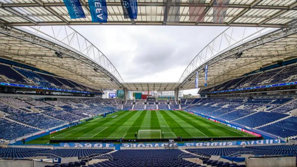 El estadio Do Dragao, sede de la final de la Champions. (UEFA)