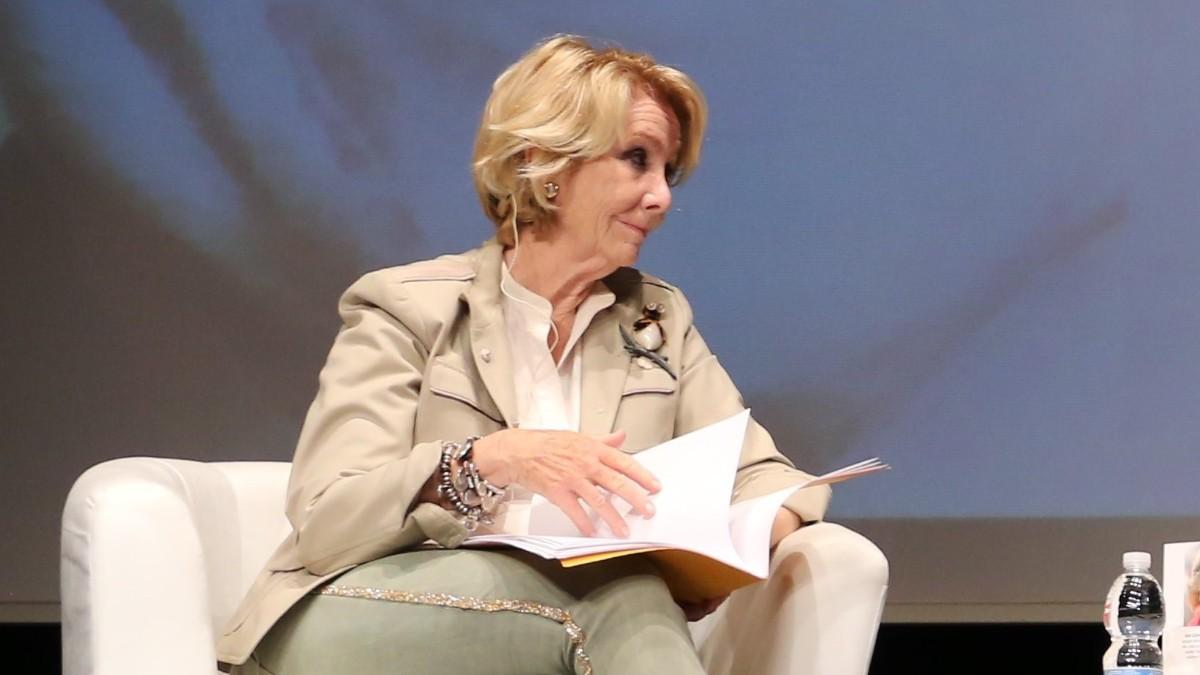 Esperanza Aguirre. Foto: Europa Press