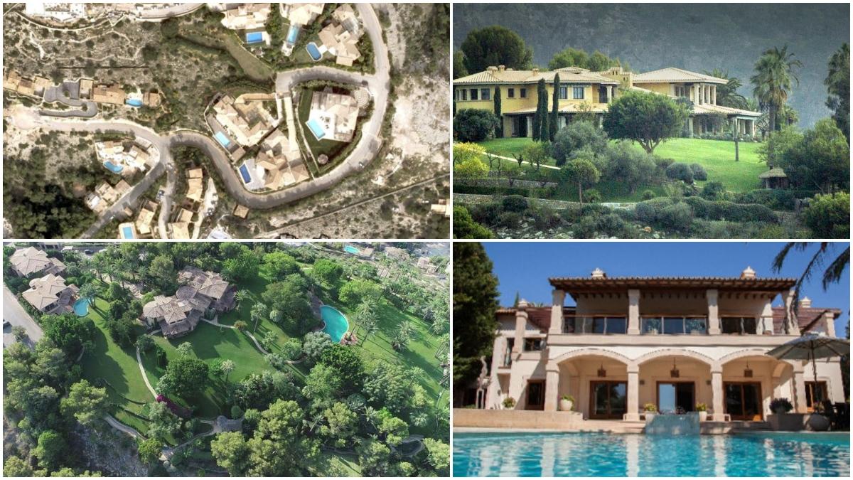 La mansión de los Schumacher en Mallorca