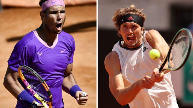 A qué hora y dónde ver por TV y online el Rafa Nadal – Zverev de cuartos de final del Masters 1000 de Roma