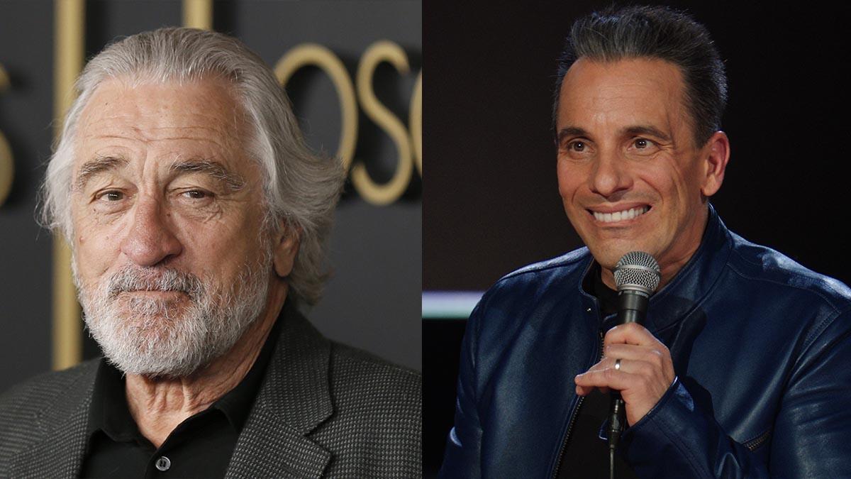 Robert De Niro y Sebastian Maniscalco