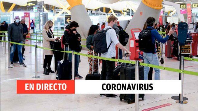 Coronavirus en España, en directo: medidas Covid, datos y última hora de la vacunación