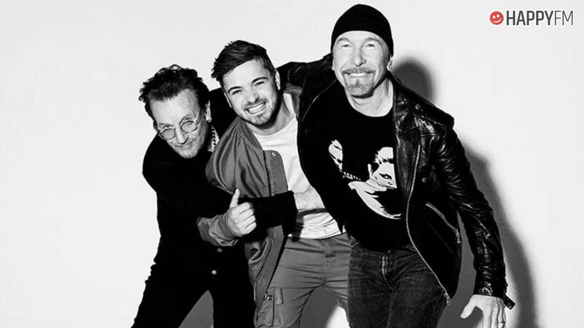 Bono, Martin Garrix y The Edge