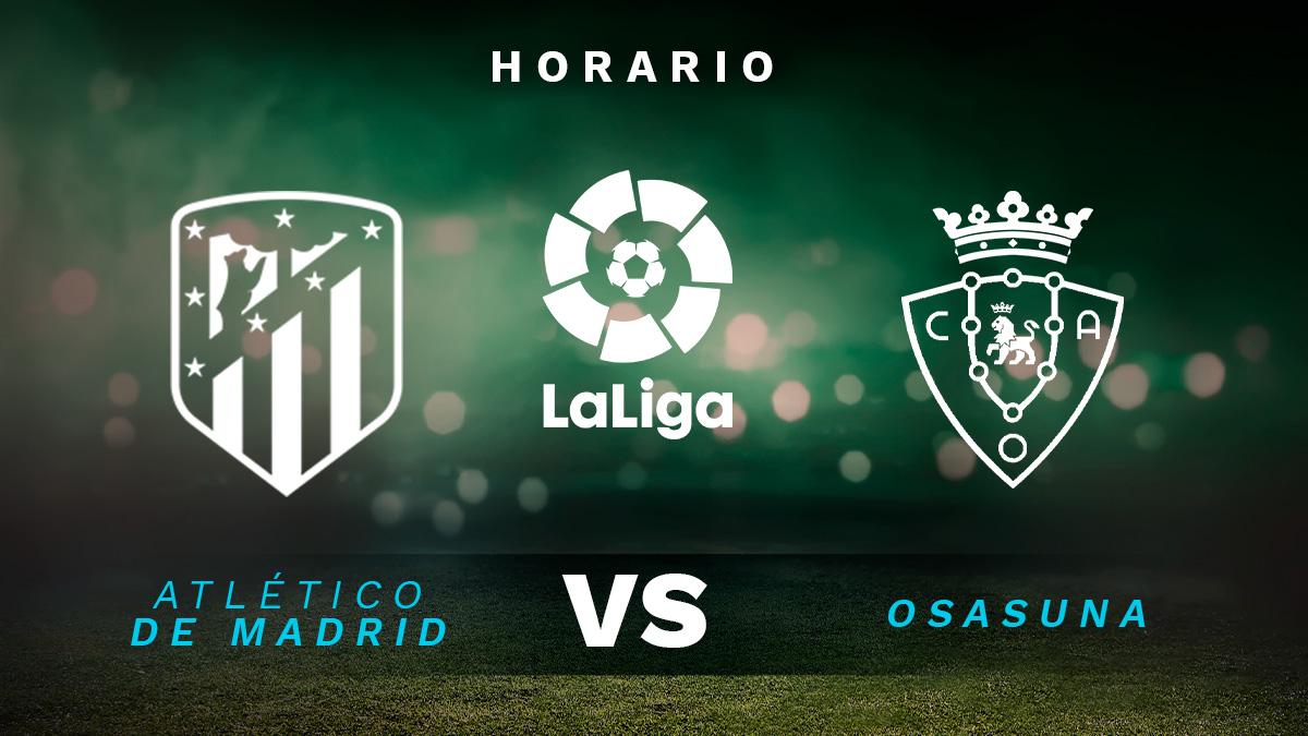 Atlético de Madrid – Osasuna: jornada 37 de la Liga Santander.