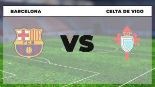 Horario Barcelona Celta