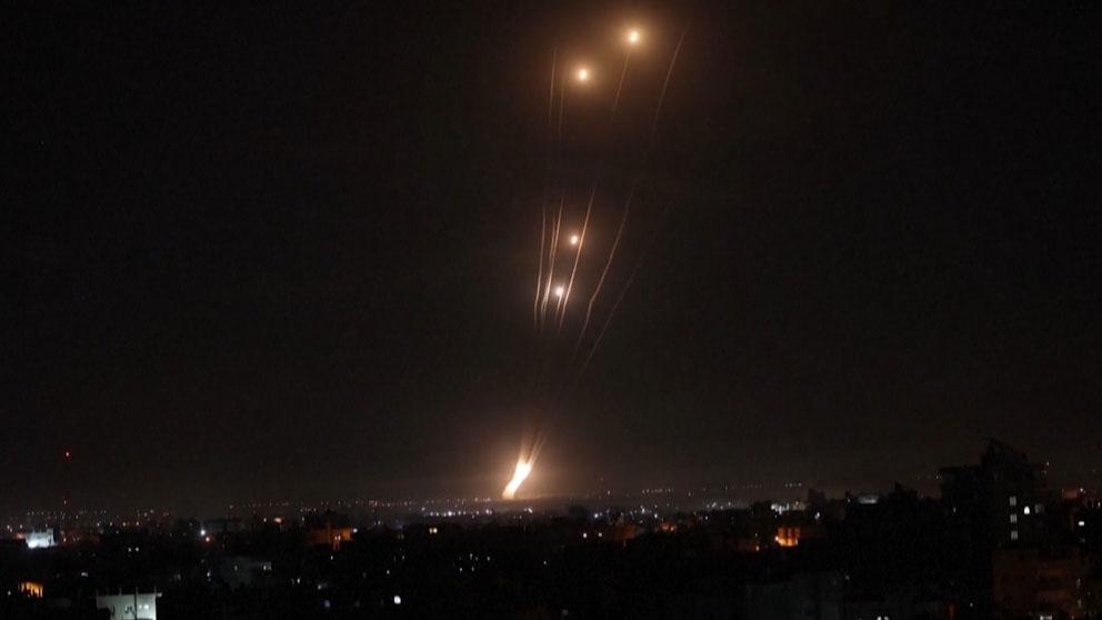 Israel lanza un intenso ataque aéreo contra el norte de la Franja de Gaza.