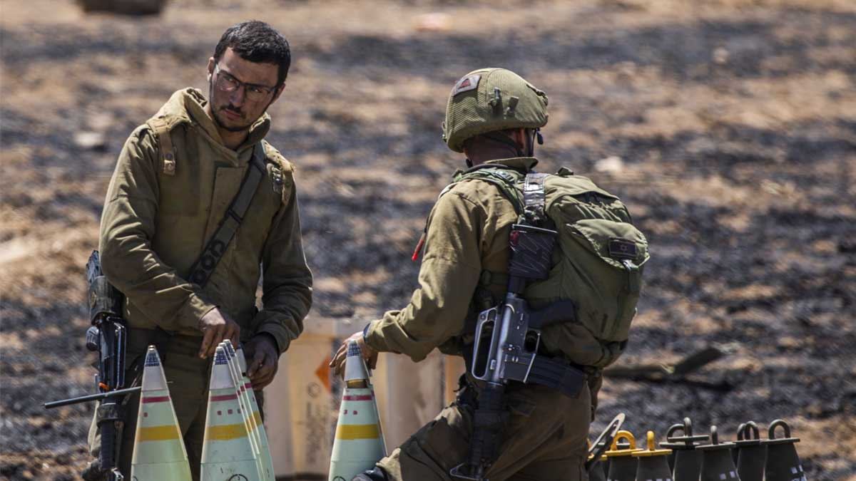 Soldado israelíes. Foto: Europa Press