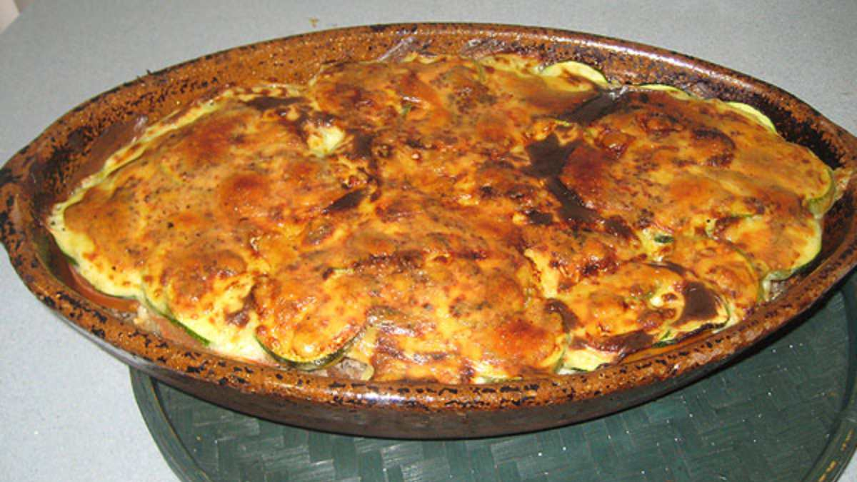 Parmesana de calabacín