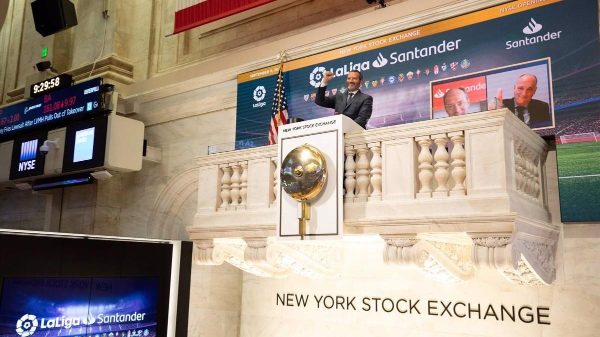 Tebas abrió la bolsa de Nueva York el pasado 9 de septiembre.