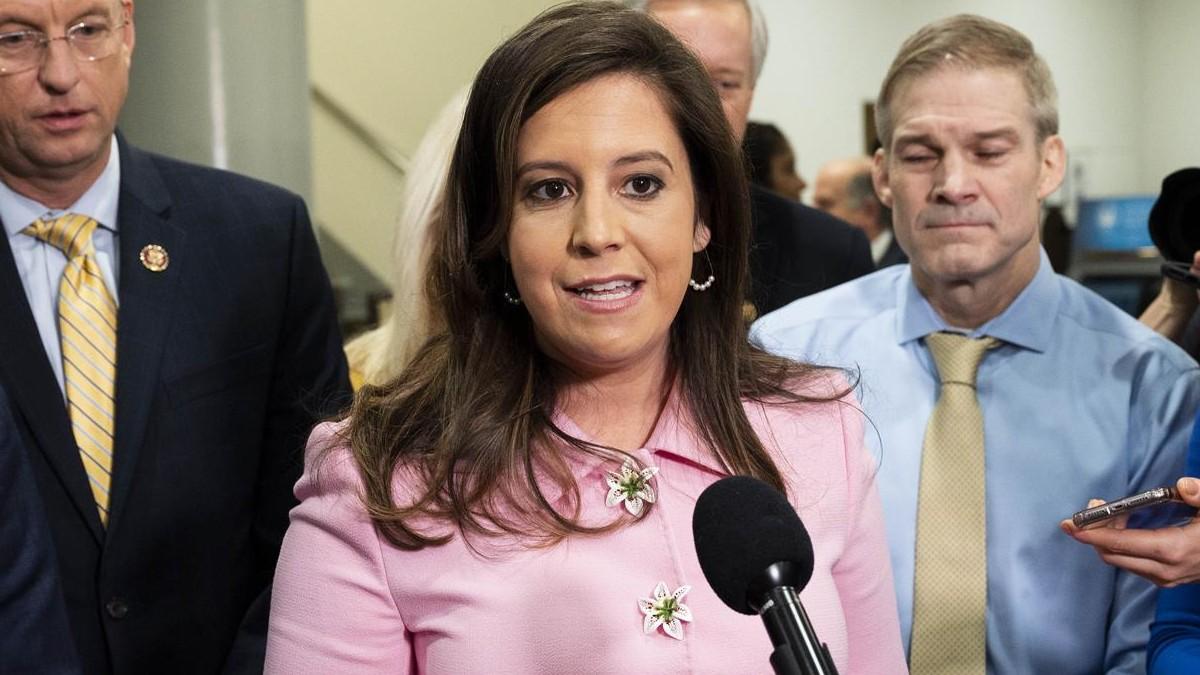 La congresista por Nueva York Elise Stefanik