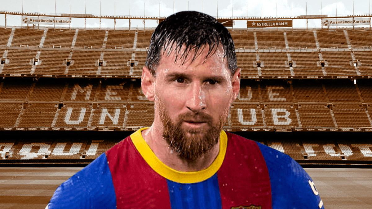 Messi en el Barcelona.