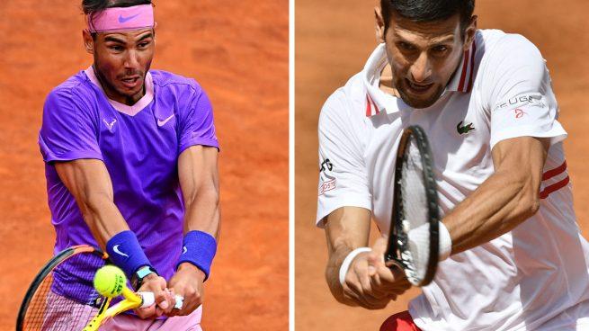 Dónde ver Rafa Nadal vs Djokovic hoy y a qué hora es la final del Masters 1000 de Roma, en directo