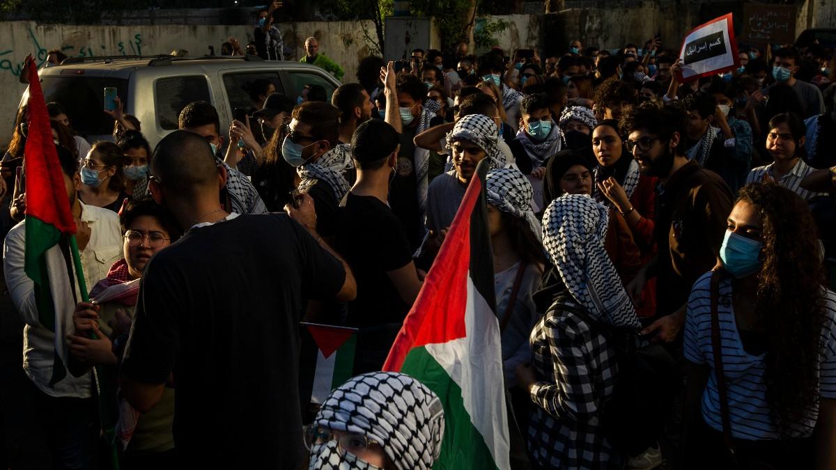 Protesta propalestina en Beirut – Daniel Carde/ZUMA Wire/dpa
