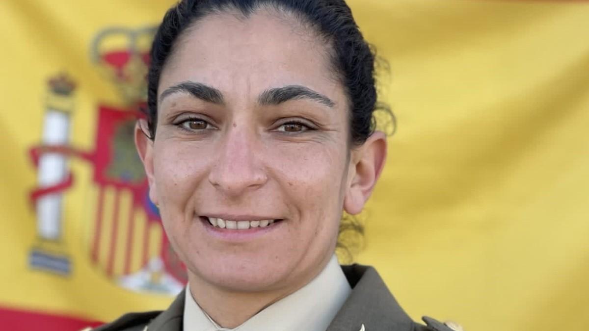 Sargento de artillería Débora Grau – EJÉRCITO DE TIERRA