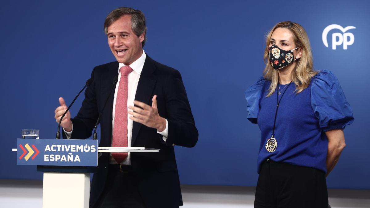 Antonio González Terol y Ana Beltrán, en una imagen de archivo. (Foto: EP)