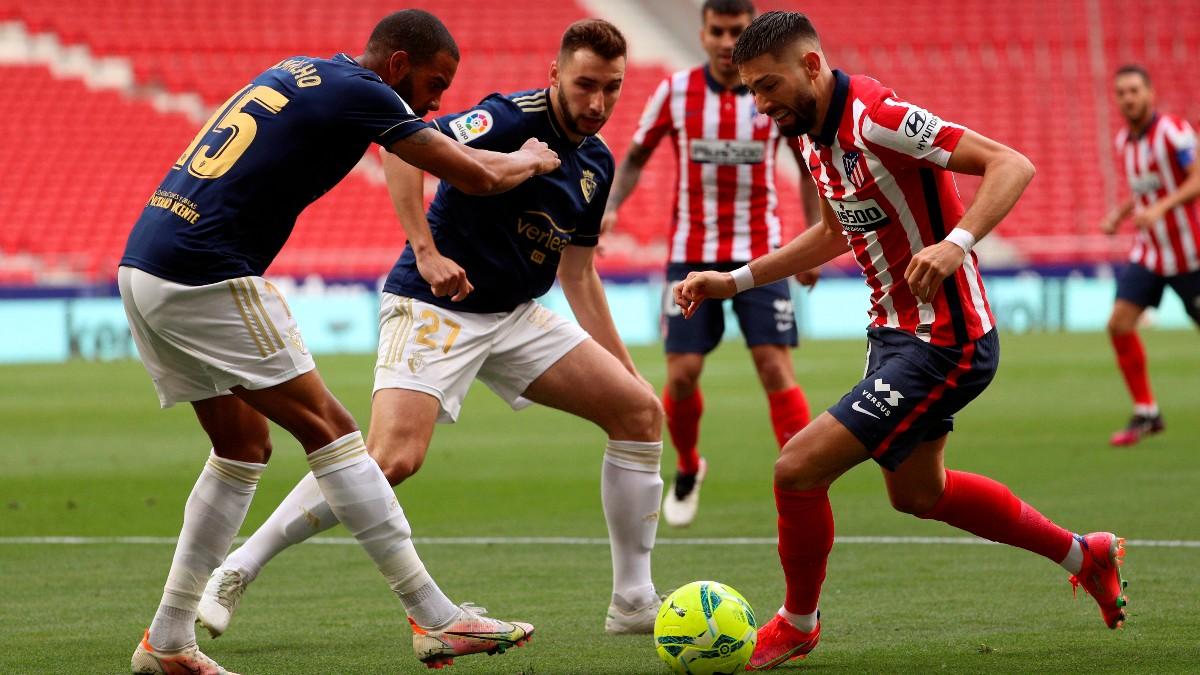 Atlético de Madrid – Osasuna: en directo el partido de hoy de Liga Santander online