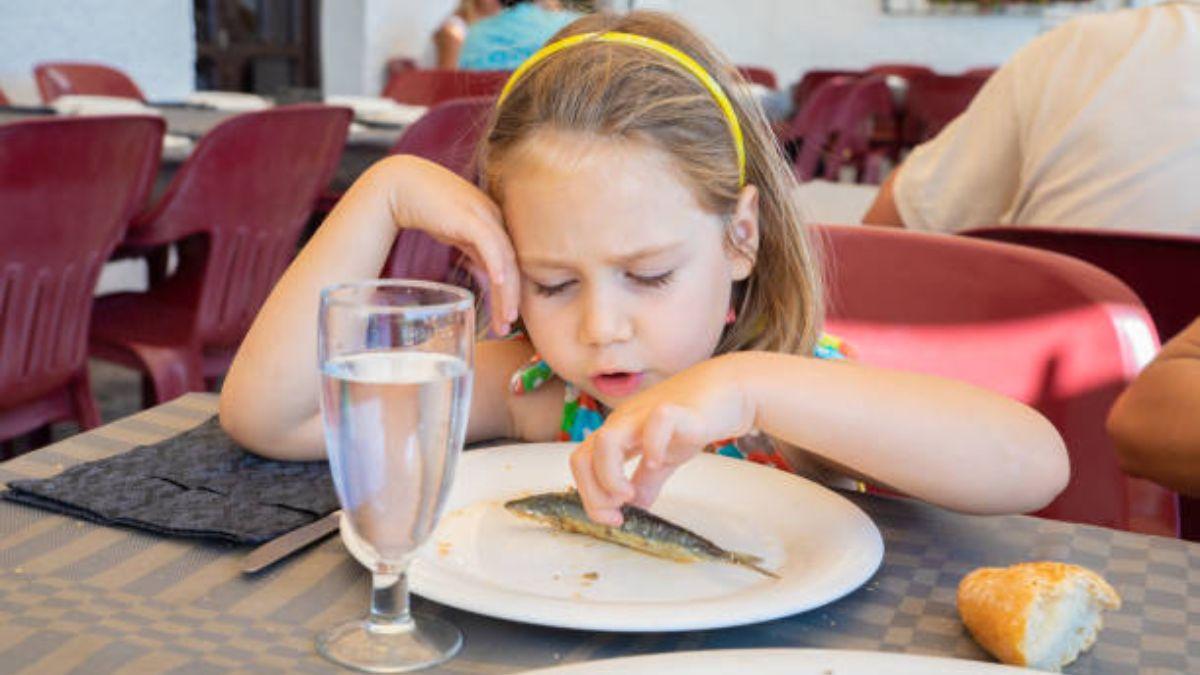 Pautas para conseguir que los niños coman pescado